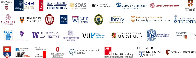 Kitaplarımızın Kataloglandığı Dünyanın Bilinen Üniversiteleri
